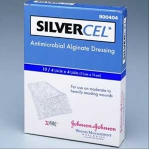 SILVERCEL Sterile Antimicrobial Alginate Dressing