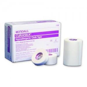 Covidien CURASILK  Hypoallergenic Cloth Tape