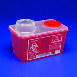 Covidien SharpSafety  Monoject  Sharps Containers
