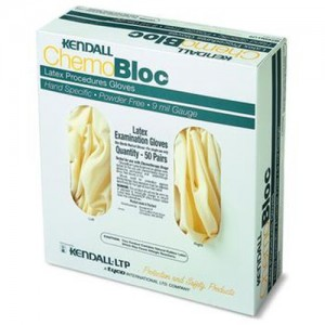 Kendall ChemoBloc Chemotherapy Latex Gloves