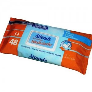 Attends Personal Cleansing Washcloths