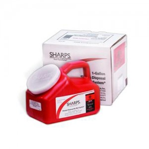 Sharps Disposal Container by Mail System