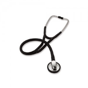 Signature Series Low Profile Cardiology Stethoscope Adult Black