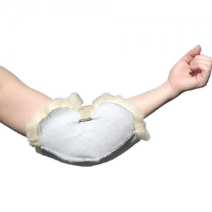 Sheepskin Ranch Natural Medical Sheep Skin Elbow Protector