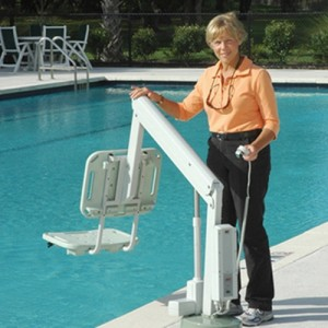 AXS Semi Portable Aquatic Pool Lift
