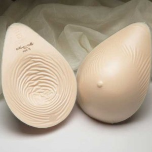 Nearly Me Extra Lightweight Oval Silicone Breast Form 875