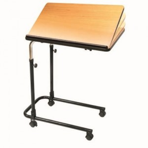 Carex Home Tilt Top Overbed Table