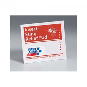 First Aid Only Insect Sting Relief Pads 50 G326