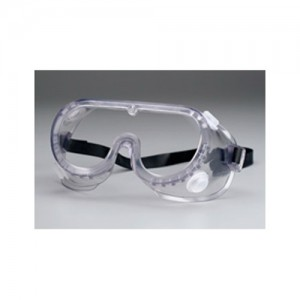 Red Cross Protective Splash Goggles with Clear Frame M767