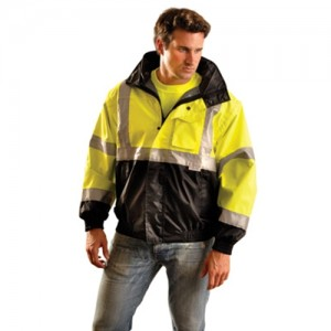 OccuNomix Hi-Viz Occulux Bomber Jacket With 3M  Reflective Stripes