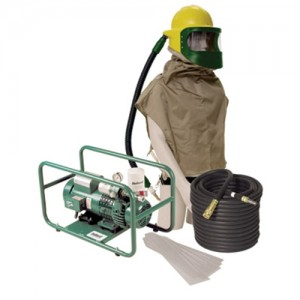 Bullard  Abrasive Blasting Hood Free-Air Pump Supplied Air System