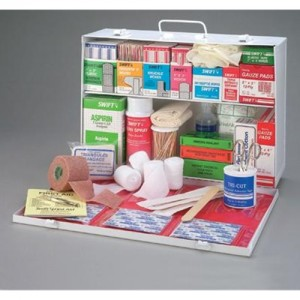 Radnor  Two-Shelf 10 Person Mobile Utility First Aid Kit