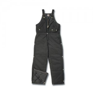 Carhartt  Quilt Lined Extremes  Nylon Arctic Zip-Front Overall