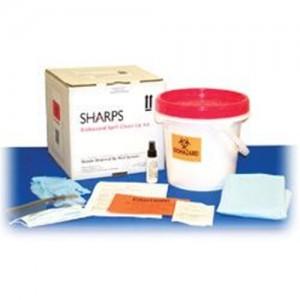 Sharps Biohazard Spill Clean-Up Kit