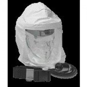 North Safety Tyvek Hood With Headgear & Breathing Tube