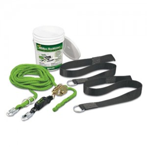 Miller  2 Person TechLine Temporary Horizontal Lifeline System Kit