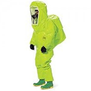 DuPont High-Visibility Tychem  TK Level A Chemical Protection Suit