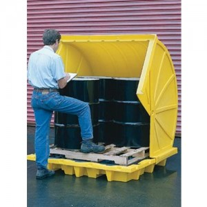 Eagle 4 Drum Rotary-Top Containment Unit