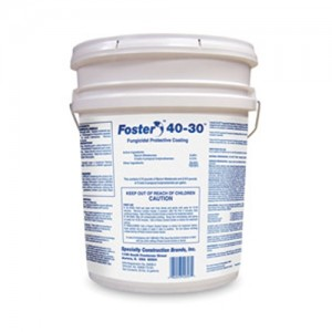 Foster  5 Gallon Pail Black Fungicidal Protective Coating