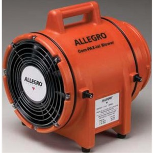 Allegro Industries 8 Plastic COM-PAX-IAL Blower Without Canister