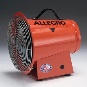 Allegro  Industries Blower Ac Axial Explosion-Proof 1/3 Horse Power