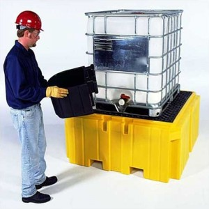 Ultra-Tech Bucket Shelf for IBC Spill Pallet