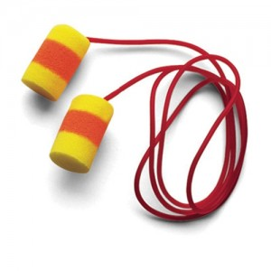 AOSafety  Single Use E-A-R  Classic  PVC And Foam Corded Earplugs