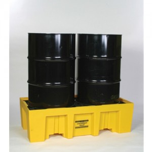 Eagle Two Drum 66 Gallon Polyethylene Spill Control Pallet