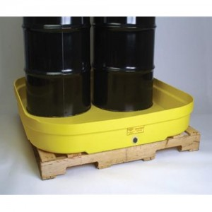 Eagle Four Drum Polyethylene Modular Spill Containment Budget Basin