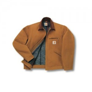 Carhartt Tall Blanket Lined Duck Detroit Jacket