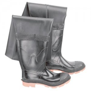 Bata Onguard Storm King Steel Toe Hip Waders with Cleated Sole