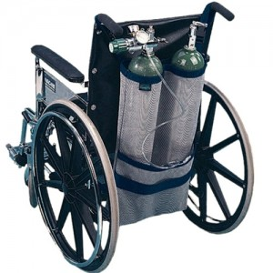 EZ Access Wheelchair Oxygen Tank Holder