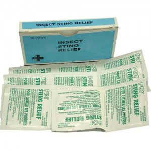 Insect Sting Relief Wipes