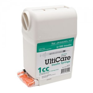 UltiMed UltiGuard Insulin Syringes