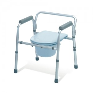 Medline Folding Bedside Commode