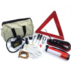 UPG Emergency Roadside Kit with Air Compressor