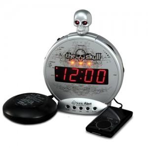 Sonic Boom Skull Alarm Clock
