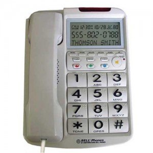 Future Call Amplified Big Button Phone with Caller ID