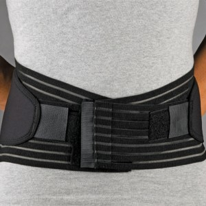 FLA Orthopedics Neoprene Lumbar Sacral Support Belt