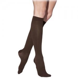 Sigvaris Womens Cotton Knee High Medical Socks 30-40mmHg