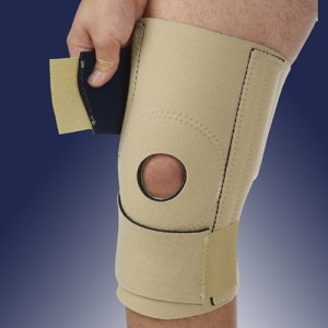 Banyan Wrap Around Open Patella Knee Brace