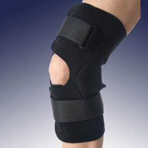 Banyan Neoprene Wrap Around Knee Brace with Open Patella