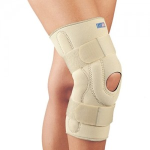 FLA Hinged Stabilizing Neoprene Knee Brace