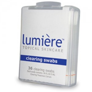 Lumiere Clearing Skin Swabs