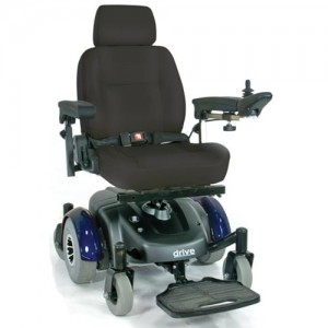 Image EC Mid Wheel Drive Reclining Power Wheelchair