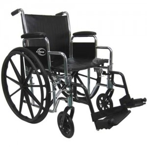 Karman Healthcare Heavy-Duty Wheelchair