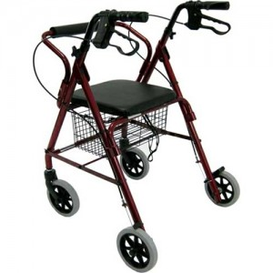 Karman R-4100 Series Rollator Walker
