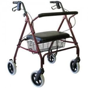 Karman Healthcare Bariatric Rollator Walker