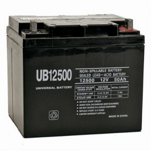Universal Power Group UB12500 12V 50Ah Battery
