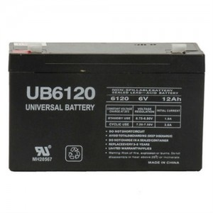 UPG UB6120 SLA AGM 6V/12Ah Battery
